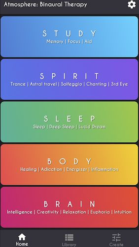 Download Atmosphere: Binaural therapy for Android for free. Apps for phones and tablets.