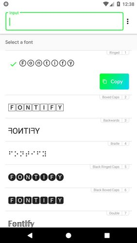 Download Fontify - Fonts for Instagram for Android for free. Apps for phones and tablets.
