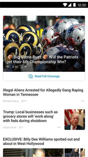 TopBuzz: Breaking news - Local, national & more app for Android, download programs for phones and tablets for free.