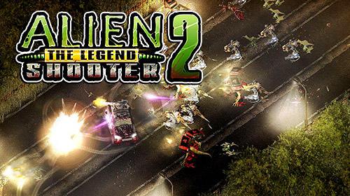 Alien shooter 2: The legend poster