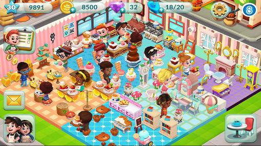 of the most popular cafe in the city in this game for android.