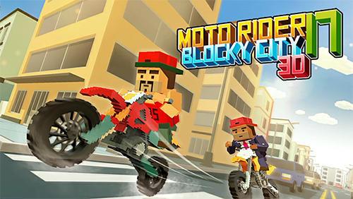 Descargar Moto Rider 3d Blocky City 17 Para Android Gratis El