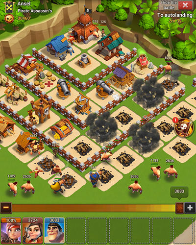 Pirate war: Age of strike screenshot 3