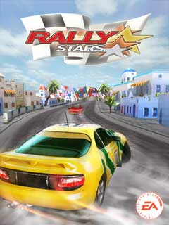 Rally Stars 3D - java game for mobile  Rally Stars 3D free