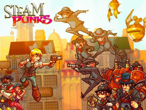 Steam Punks iPhone game - free  Download ipa for iPad,iPhone