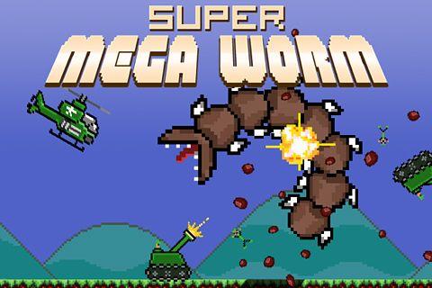 iphone super mega worm ゲームを無料でダウンロード