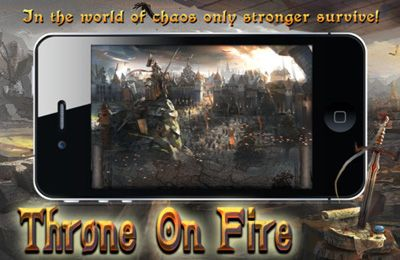 Throne on Fire iPhone game - free  Download ipa for iPad,iPhone,iPod