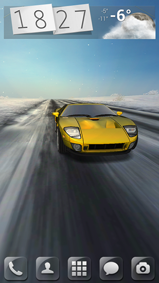 3D Car Download Livewallpaper For