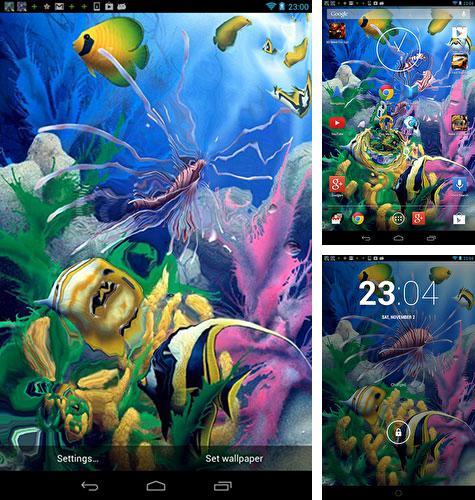 Descargar Fondo De Pantalla Animado Acuario Samsung S9