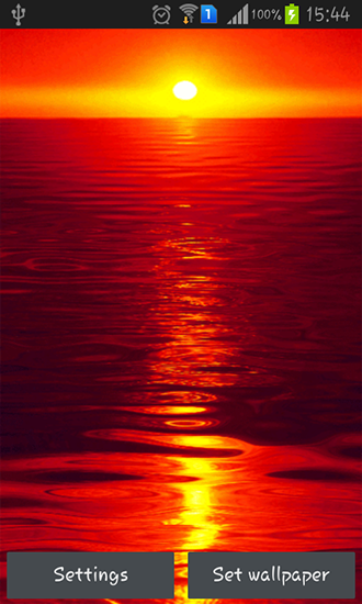 Hot Sunset Live Wallpaper For Android Hot Sunset Free Download For