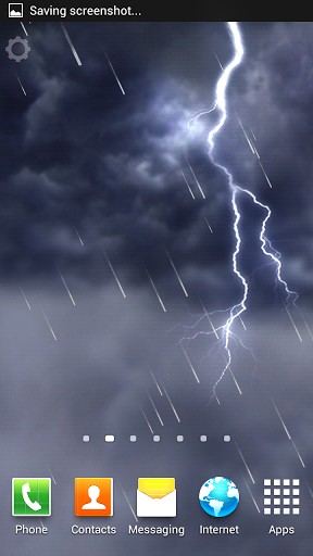 Lightning Storm Live Wallpaper For Android Lightning Storm