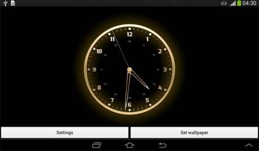 free download live clock wallpaper for mobile