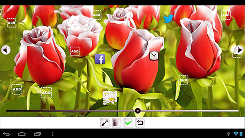 My flower 3D live wallpaper for Android