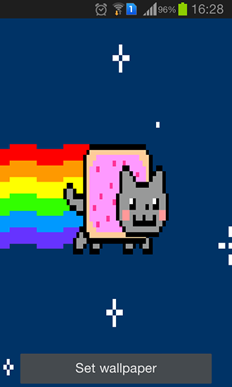 Nyan Cat Live Wallpaper For Android Nyan Cat Free Download