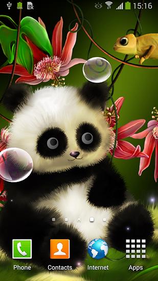 Descargar Panda by Live wallpapers 3D para Android gratis. El fondo de pantalla animados Panda en Android.