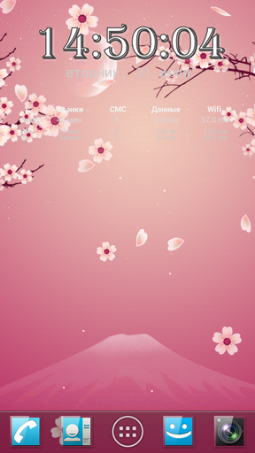 Sakura Pro Live Wallpaper For Android Sakura Pro Free Download For