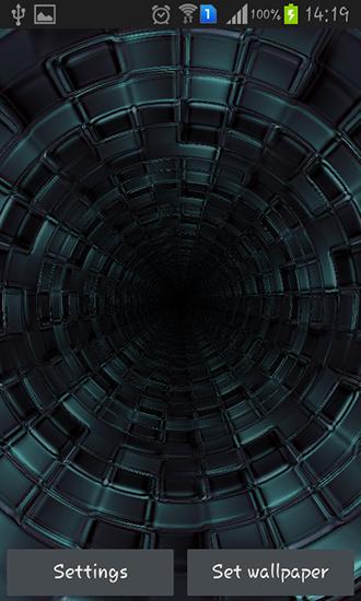 живые обои для android 3d tunnel