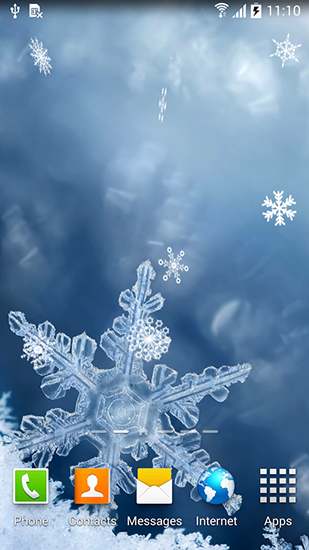 Winter By Blackbird Wallpapers Live Wallpaper For Android Free Download Tablet And Phone
