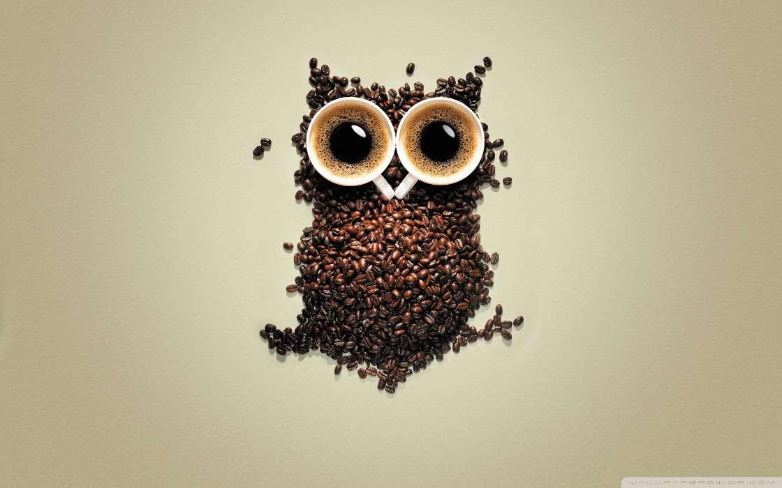手机壁纸:搞笑, 食物, 饮料, 咖啡, #27659