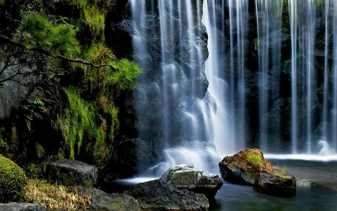 壁纸 风景 旅游 瀑布 山水 桌面 1120_700