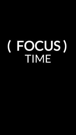 Focus Time