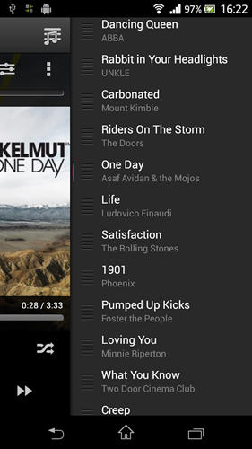 Download 10 tracks: Cloud music player for Android for free. Apps for phones and tablets.