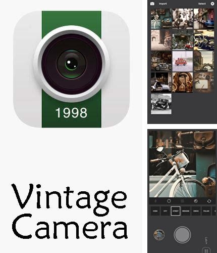 Besides Foreca weather Android program you can download 1998 Cam - Vintage camera for Android phone or tablet for free.