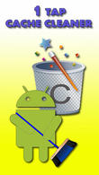 Download 1 tap cache cleaner for Android - best program for phone and tablet.
