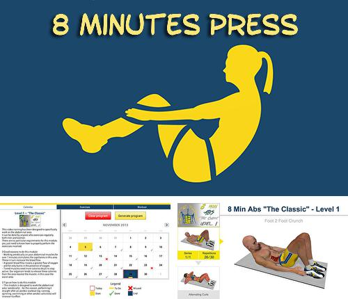 Besides Cut Paste Android program you can download 8 minutes press for Android phone or tablet for free.