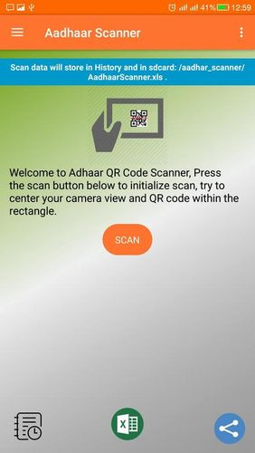 Download Aadhar: QR decoder/encoder for Android for free. Apps for phones and tablets.