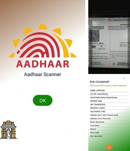 Besides Flyne Android program you can download Aadhar: QR decoder/encoder for Android phone or tablet for free.
