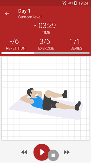 Abs Workout app for Android, download programs for phones and tablets for free.