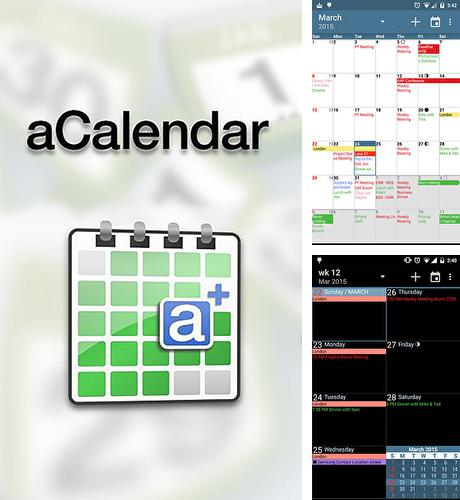Download aCalendar for Android phones and tablets.