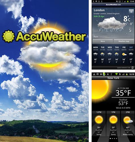 Besides Glimpse notifications Android program you can download Accu weather for Android phone or tablet for free.