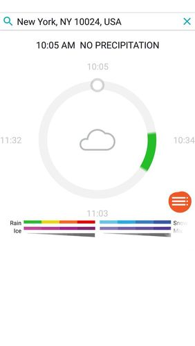 Descargar gratis AccuWeather: Weather radar & Live forecast maps para Android. Programas para teléfonos y tabletas.