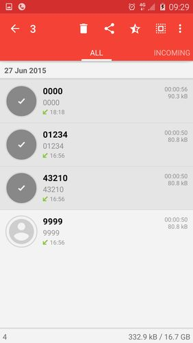 ACR: Call recorder app for Android, download programs for phones and tablets for free.