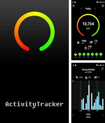 Descargar gratis ActivityTracker - Step counter & pedometer para Android. Apps para teléfonos y tabletas.