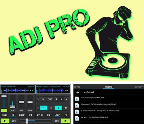 Besides Rotation control Android program you can download aDJ pro for Android phone or tablet for free.
