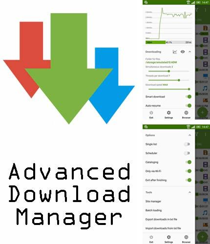 Descargar gratis Advanced download manager para Android. Apps para teléfonos y tabletas.