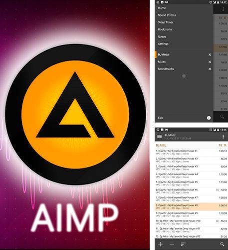 Besides Dock launcher Android program you can download AIMP for Android phone or tablet for free.