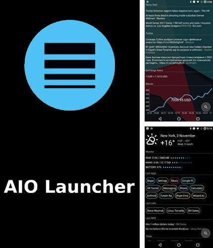 Download AIO launcher for Android phones and tablets.