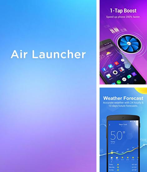 Besides Droid hardware info Android program you can download Air Launcher for Android phone or tablet for free.
