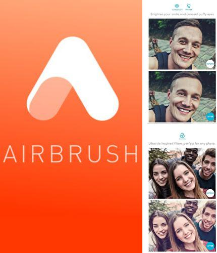 Descargar gratis AirBrush: Easy photo editor para Android. Apps para teléfonos y tabletas.