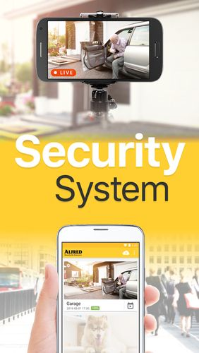 Screenshots of Alfred - Home security camera program for Android phone or tablet.