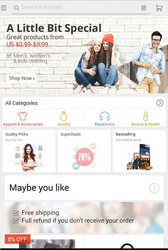 AliExpress app for Android, download programs for phones and tablets for free.