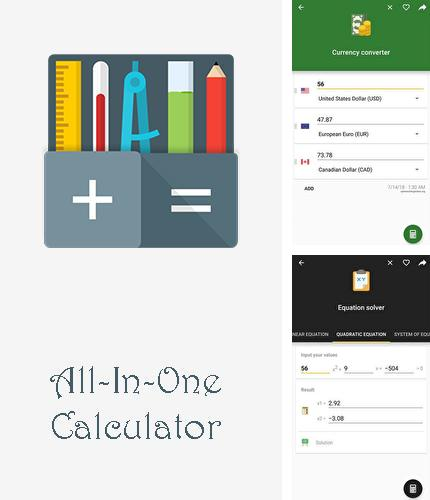 Además del programa Google Plus para Android, podrá descargar All-In-One calculator para teléfono o tableta Android.