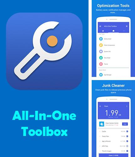 Descargar gratis All-in-one Toolbox: Cleaner, booster, app manager para Android. Apps para teléfonos y tabletas.