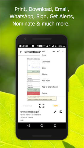 Alldox: Documents Organized app for Android, download programs for phones and tablets for free.