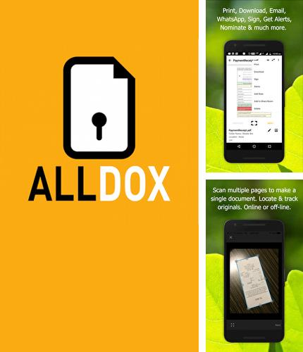 Descargar gratis Alldox: Documents Organized para Android. Apps para teléfonos y tabletas.