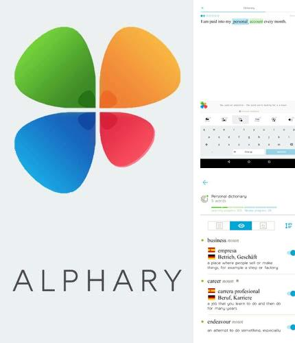 Besides Heimdall: Parental control Android program you can download Alphary for Android phone or tablet for free.